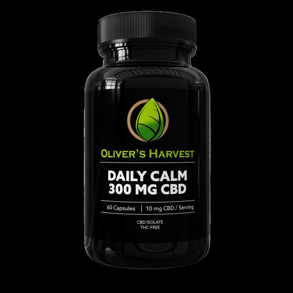 Oliver's Harvest 300mg CBD Daily Calm Supplement 1 Oliver's Harvest