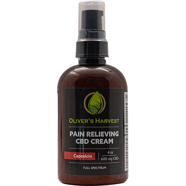 Oliver's Harvest Pain Cream with CBD & Capsaicin 1 Oliver's Harvest