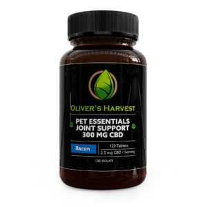 Pet Essentials 300mg CBD Joint Support 6 Oliver's Harvest