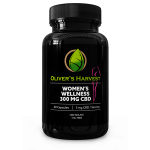 Oliver's Harvest 300mg CBD Women's Wellness Supplement 5 Oliver`s Harvest