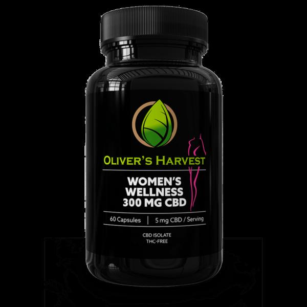 Oliver's Harvest 300mg CBD Women's Wellness Supplement 1 Oliver`s Harvest