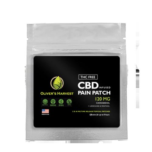 Oliver's Harvest CBD Patches - Menthol & Lidocaine 1 Oliver's Harvest