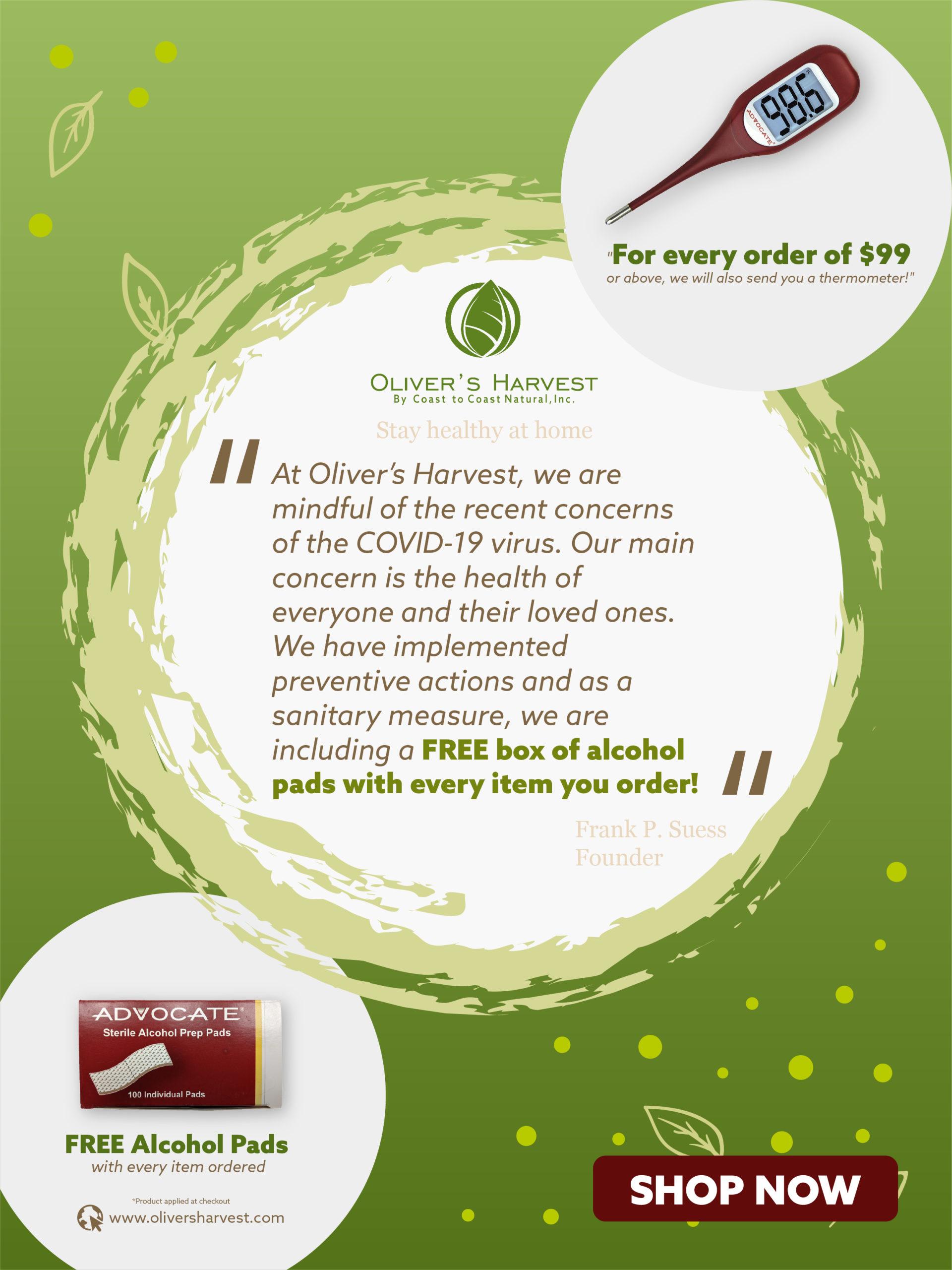 Homepage 2 Oliver's Harvest