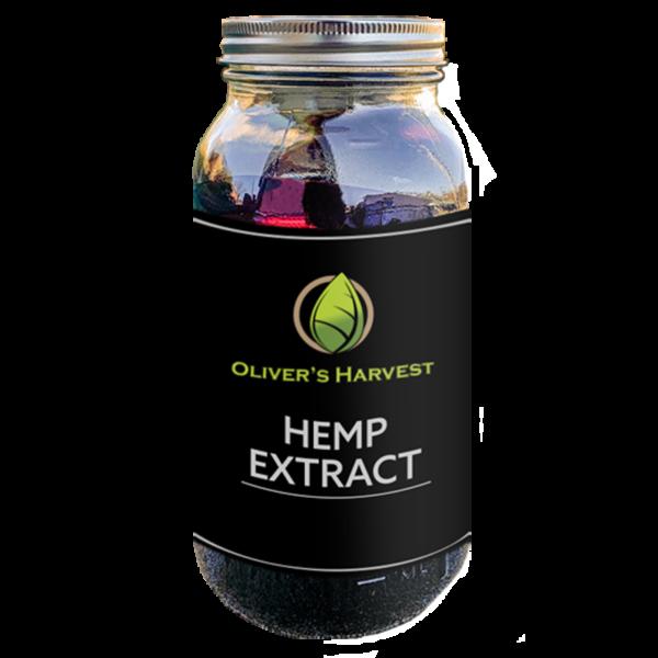 Hemp Extract Crude 1 Oliver's Harvest