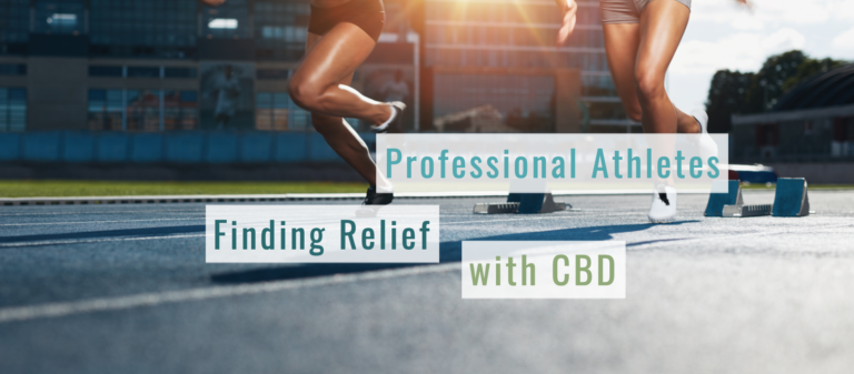 Professional Athletes Finding Relief With CBD