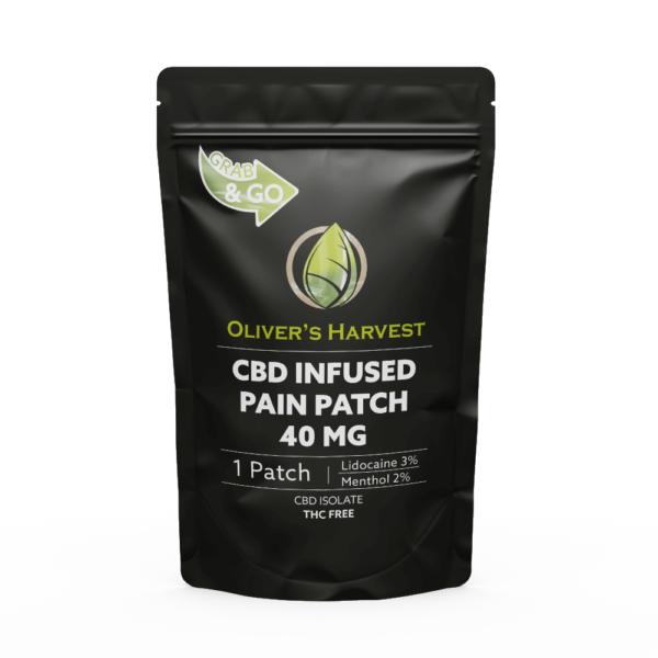 GRAB & GO CBD Infused Pain Patch 1 Oliver's Harvest