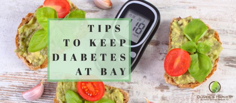 Quick Tips to Keep Diabetes at Bay