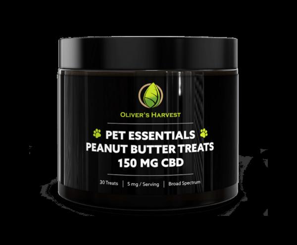Sample - Peanut Butter Dog Treats (3-Pack) 1 Oliver's Harvest